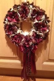 Progged wreath by Deb Tilson
