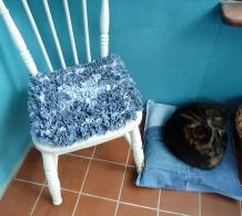 Progged seat mat by Helen Smith