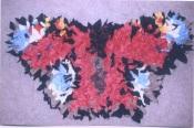 Progged butterfly by Jeanette Dawe