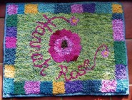 Hooked rug by Pam Mactear
