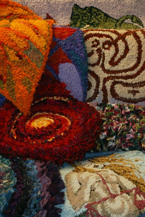 rag rugs were made from old clothes or mill waste since the 19th century revived in the 1930s and 1940s the craft is now a handson sustainable lifestyle - Rag Rugs