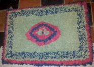 Progged rug by Ann Marie le Gall