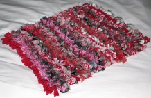 Progged rug by Jane Blayney