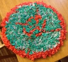 Progged mat by Tessa Lawer