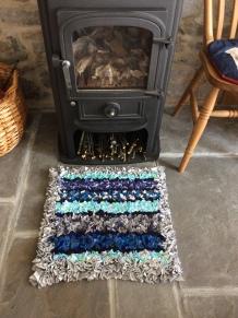 Progged rug by Valerie Burden